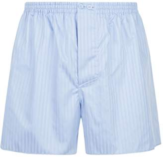 Zimmerli Woven Stripe Boxer Shorts