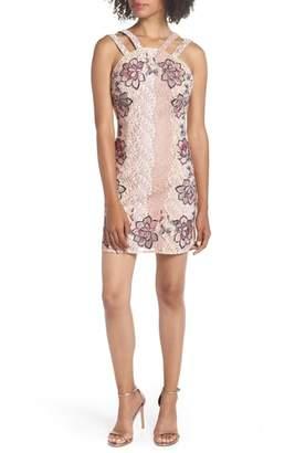 Foxiedox Georgina Applique Sheath Dress