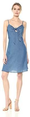 Lucca Couture Women's Vivian Front Tie Cami Dress