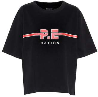 P.E Nation Dartford cotton jersey T-shirt