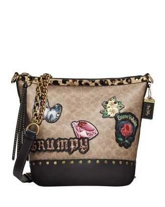 Coach 1941 DISNEY X COACH Snow White Signature Patchwork Duffel Bag