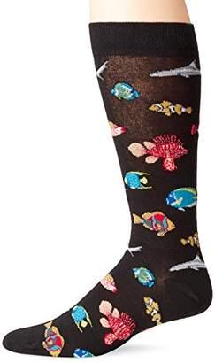 K. Bell Socks Men's Outdoorsman Novelty Crew Socks