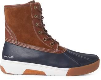 Ralph Lauren Declan Leather Duck Boot
