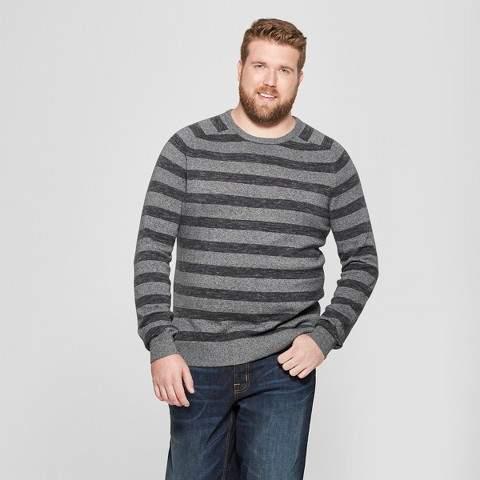 Goodfellow & Co Men's Big & Tall Crew Neck Sweater - Goodfellow & Co Charcoal Heather