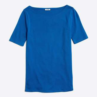 J.Crew Factory Perfect-fit open-neck T-shirt