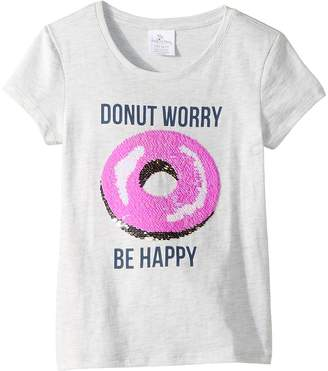 shade critters Magic Two-Way Sequins Be Happy T-Shirt Girl's T Shirt