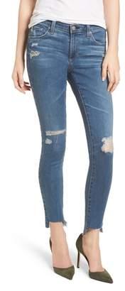 AG Jeans The Legging Raw Step Hem Ankle Skinny Jeans