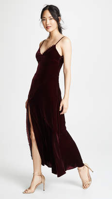 Nicholas Velvet Slip Dress