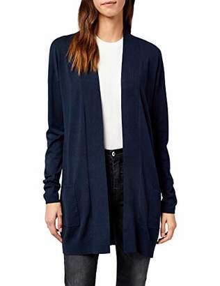 1d69a55a47 Tom Tailor Women s Long Basic Cardigan Light Frost Grey 2640