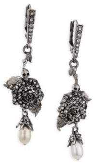 Alexander McQueen English Rose Drop Earrings
