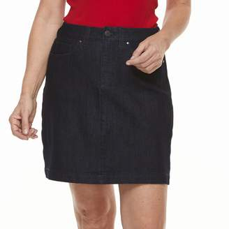 Croft & Barrow Women's Jean Skort