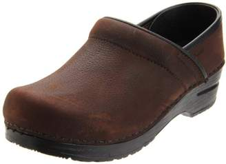 Sanita Men's Professional Textured Oil Clog