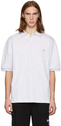 Alexander Wang Grey Compact Jersey Polo