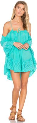 ale by alessandra Cold Shoulder Gauze Dress $140 thestylecure.com