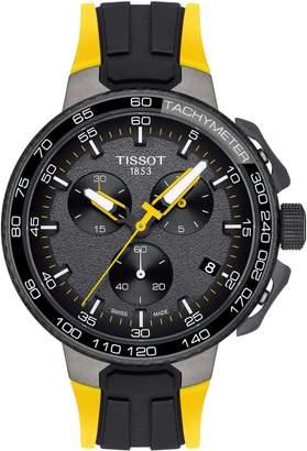 Tissot T-Race Tour de France Chronograph Silicone Strap Watch, 45mm