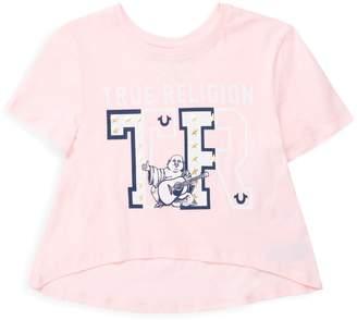 True Religion Little Girl's Short-Sleeve Cotton Tee