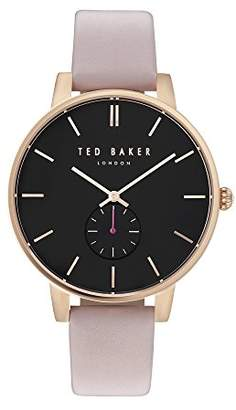 Ted Baker Womens Analogue Quartz Watch with Leather Strap TE10031538