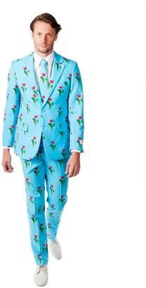 DAY Birger et Mikkelsen Opposuits Men's OppoSuits Slim-Fit Tulips From Amsterdam Suit & Tie Set