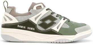 Damir Doma panelled low-top sneakers