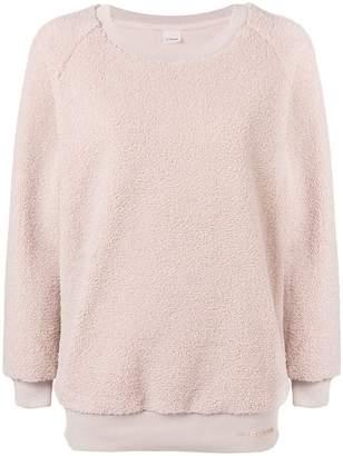 Pinko fleece knit jumper