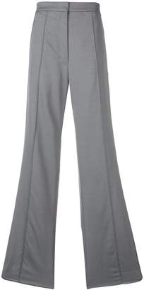 Nina Ricci side stripe wide-leg trousers