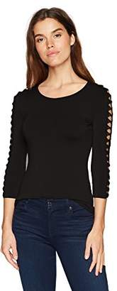 Bailey 44 Women's Romantic Lattice Sleeve Top