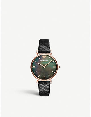 Emporio Armani Gianni T. mother-of-pearl
