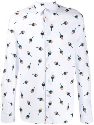 Paul Smith floral slim fit shirt