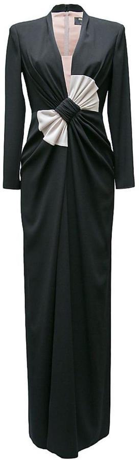 Paule KaPaule Ka Bow Front Maxi Dress