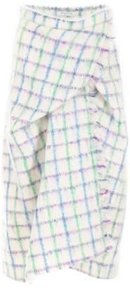 Vivetta Check Mohair Skirt