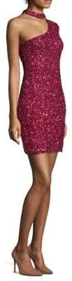 Parker Black Zoey Silk Choker Dress