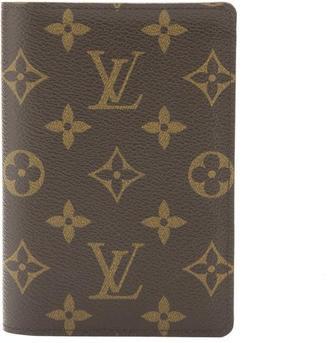 Louis Vuitton Monogram Couverture Passport Cover (Pre Owned)