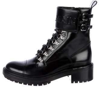 Balmain 2018 Leather Ranger Boots