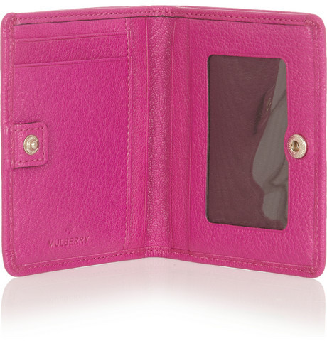 Mulberry ID leather wallet