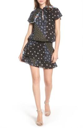 Women's Parker Lou Print Silk Dress $328 thestylecure.com