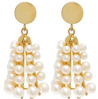 Sophia Kokosalaki Carillon Ii Pearl Earrings - Womens - Pearl