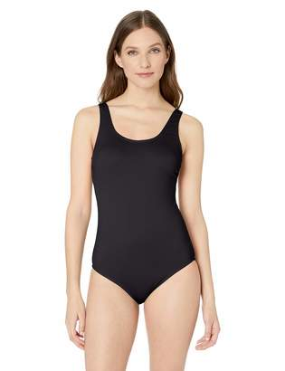 Catalina Women's Ribbed One Piece Swimsuit