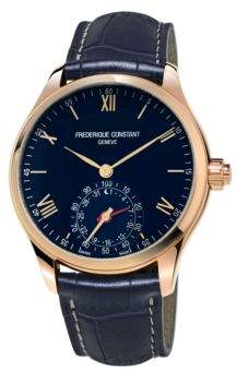 Frederique Constant Horological Leather Strap Smart Watch