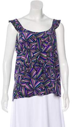 Marc by Marc Jacobs Silk Sleeveless Blouse