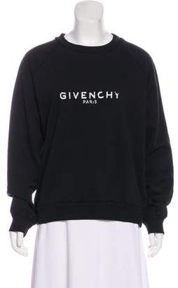 Givenchy Graphic Crew Neck Sweater w/ Tags