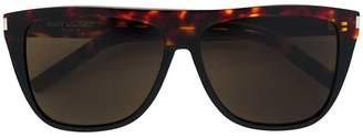 Saint Laurent Eyewear square frame flat top frame sunglasses