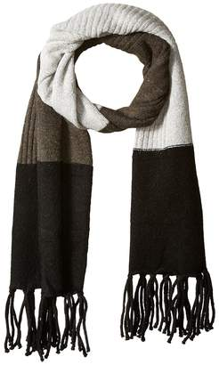 Vince Camuto Color Block Knit Scarf Scarves