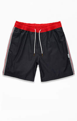 Charlie Holiday Fez Side Stripe Swim Trunks