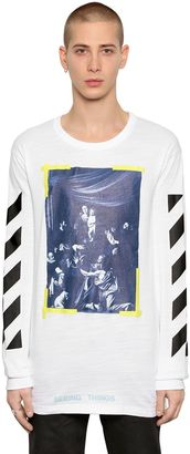 Caravaggio Oversized Jersey T-Shirt $323 thestylecure.com