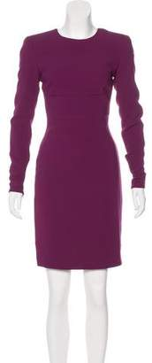 Stella McCartney Long Sleeve Knee-Length Dress