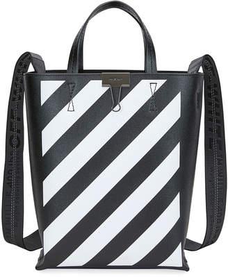 Off-White Off White Diagonal Leather Tote Bag