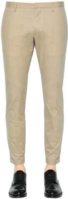 DSQUARED2 Tidy Fit Cotton Twill Pants