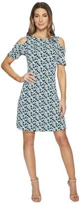 MICHAEL Michael Kors Carnation Cold Shoulder Dress Women's Dress