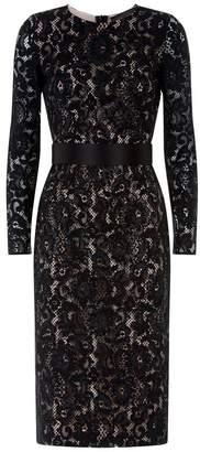 Max Mara Lace Pencil Dress