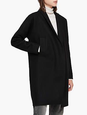 AllSaints Layton Coat, Black